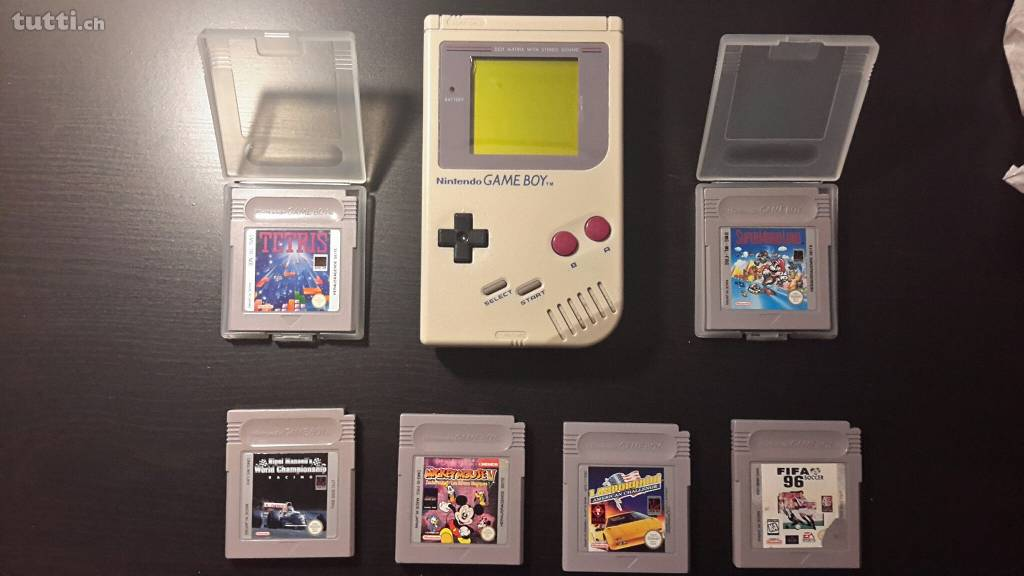 Game Boy, Game Boy Classic, 80er, Tetris