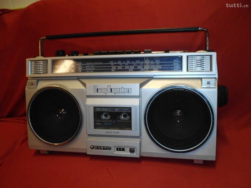 Ghettoblaster, Radio, Musik