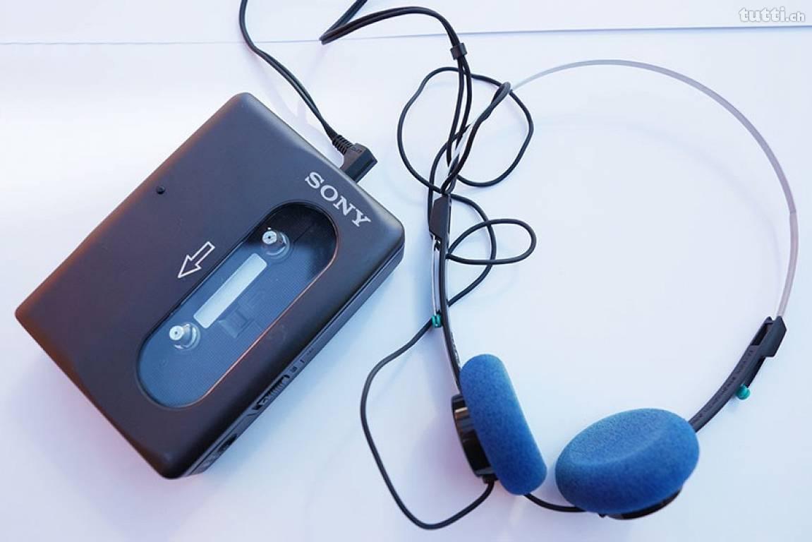 Walkmann, Musik, Sony