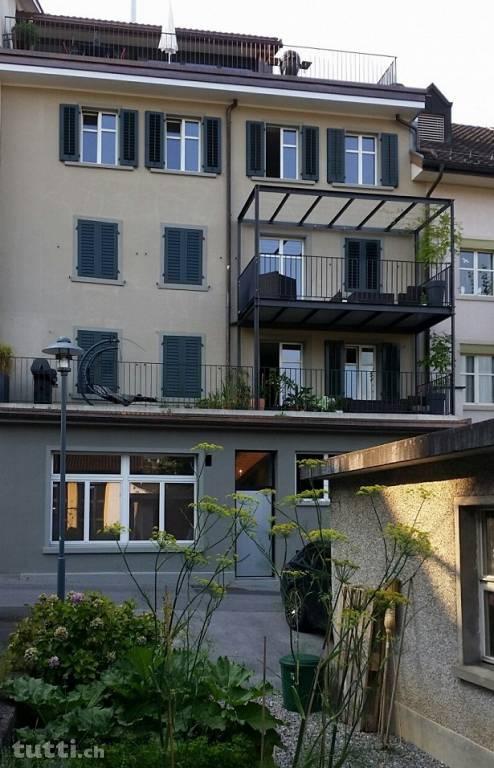 Balkon, Altbau, nachträglicher Balkon