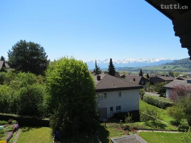 Balkon, Ausblick, Berge, Wohnung mit Balkon