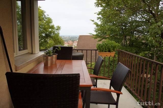 Balkon WG, Balkon für WG, Balkon Tisch