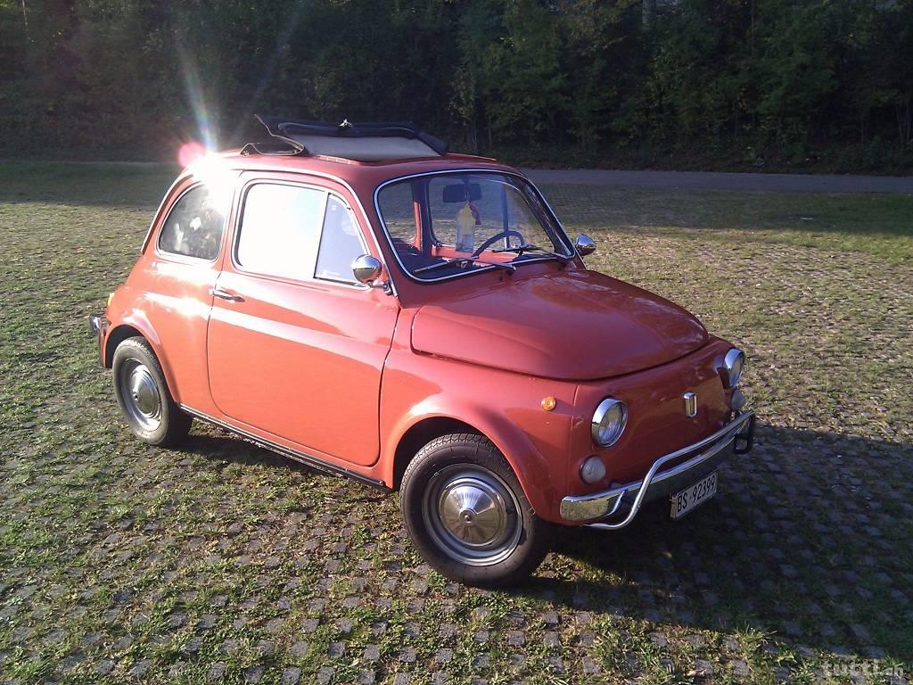 Oldtimer, Fiat 500, classic car,