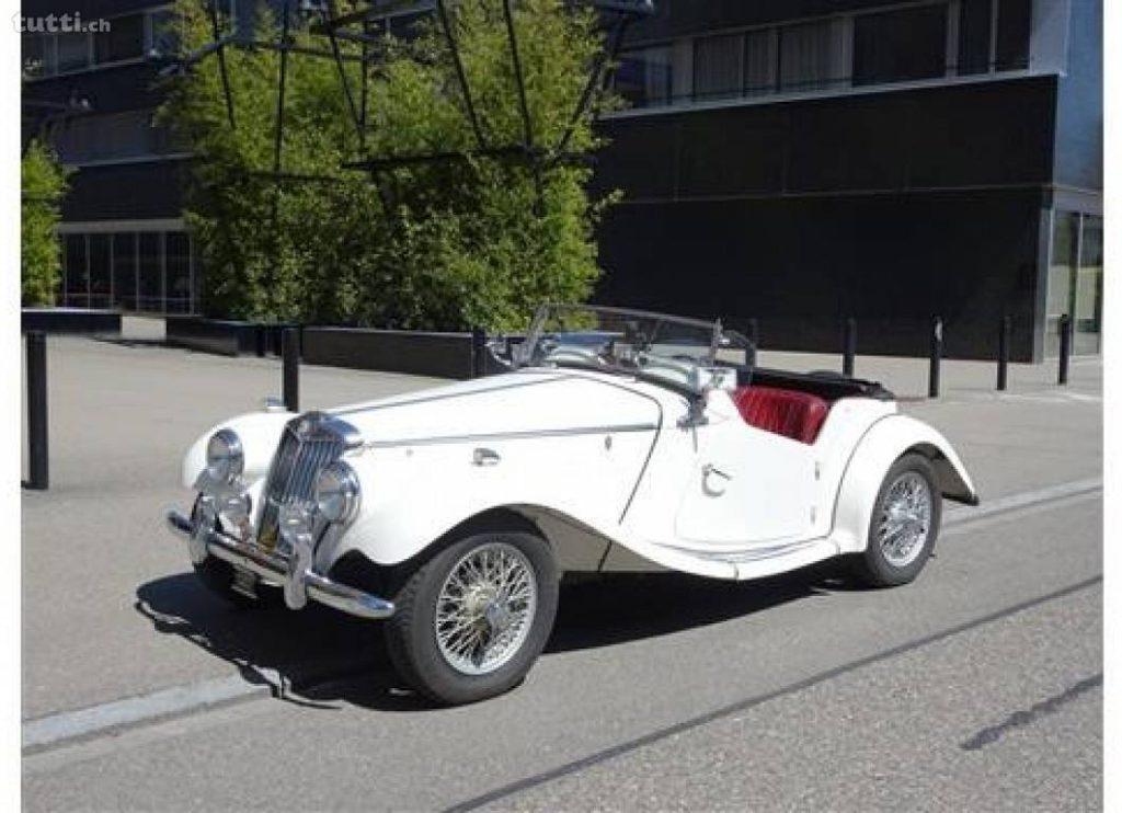Oldtimer, MG, Cabrio, Oldtimer Cabrio