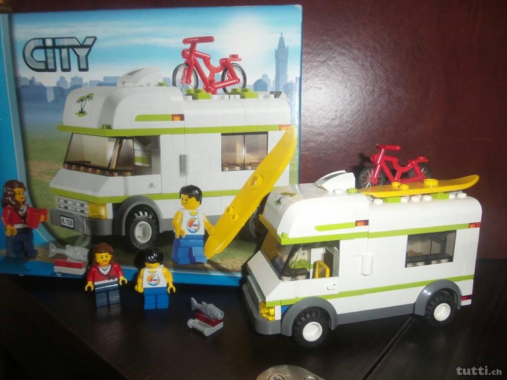 Caravan, Lego Caravan, Lego Wohmobil