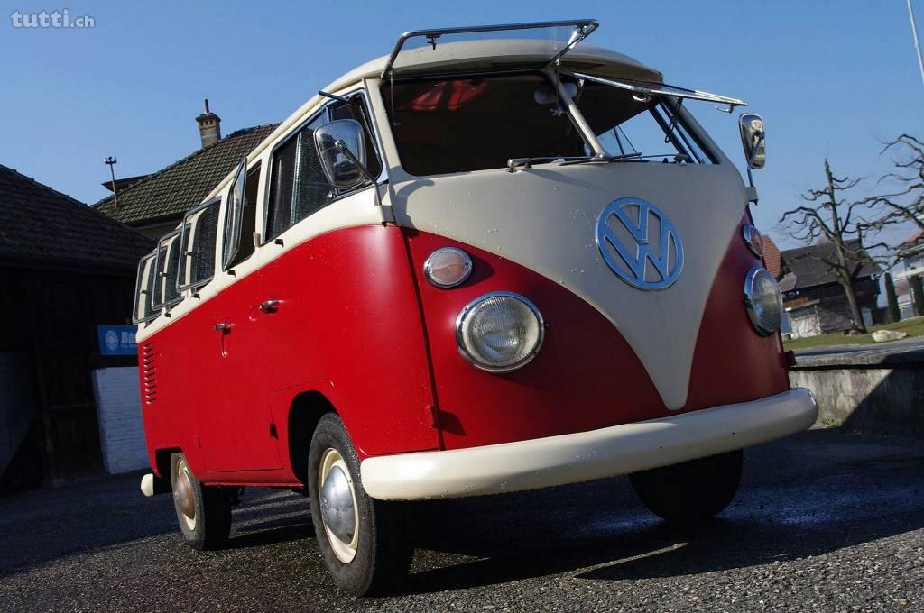 VW Bus, Bulli, T1, VW T1, Volkswagen, Oldtimer, Hippie Bus