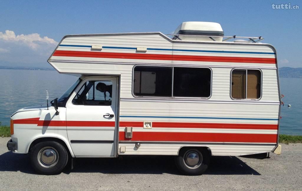 Wohnmobil Oldtimer, Oldtimer, Caravan Oldtimer, Ford Wohnmobil, Ford Transit