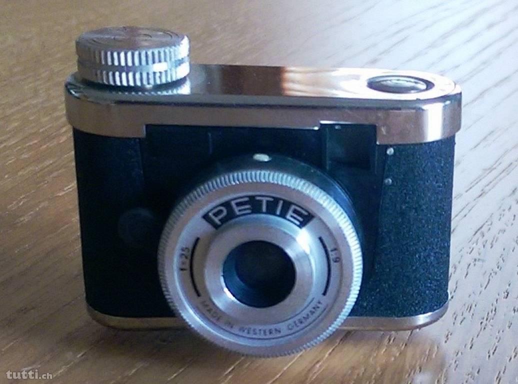 Miniatur Kamera, Mini Kamera, Kamer, Fotoapparat