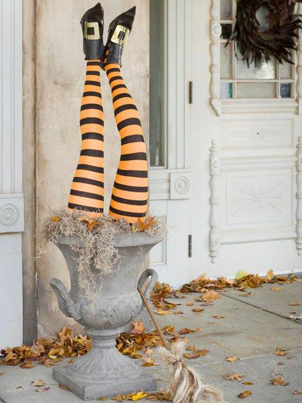 halloween-deko-eingangsbereich-dekoration-kreative-bastelideen