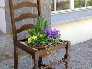 Blumenstuhl